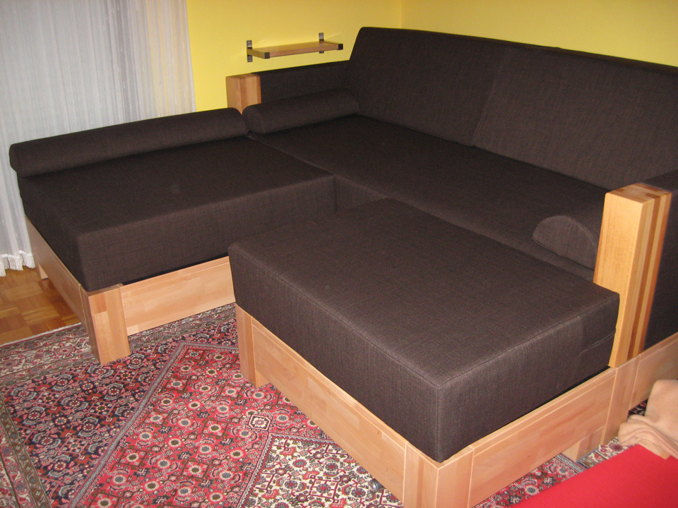 polsterbez ge f r eine eigenbau couch vom n hservice aurach. Black Bedroom Furniture Sets. Home Design Ideas